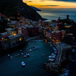 Vernazza, Italie (Cinque Terre) van Boven (Drone)