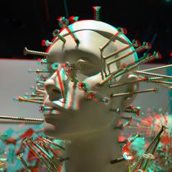 Clous-mannequins (Colonne) Kunsthal 3D