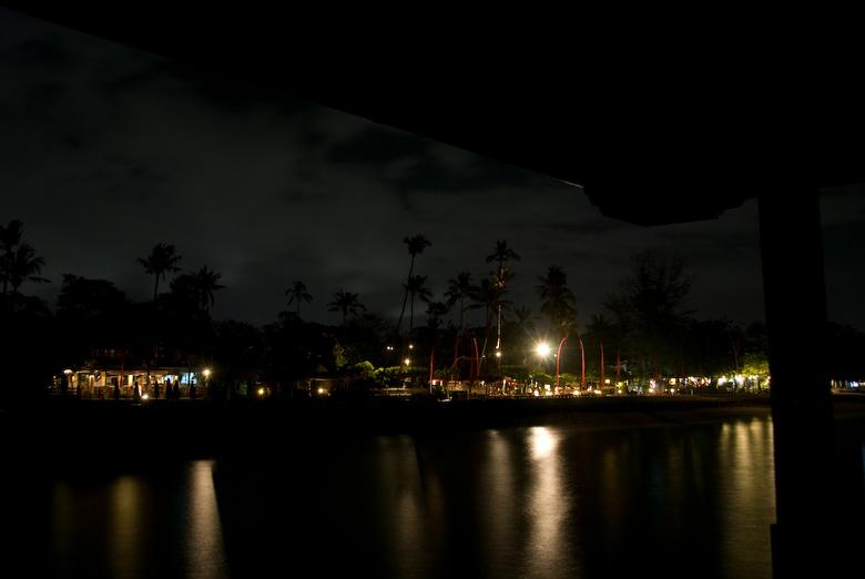 Sanur Beach By Night -