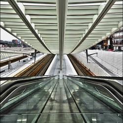 La gare des Guillemins à Liège