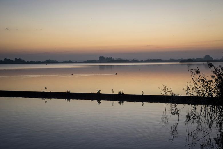 Vroeg in de morgen - Zonsopkomst op de vroege ochtend
