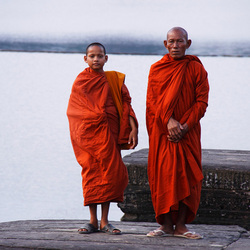 Buddhist Monks - Cambodia
