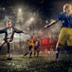 Voetbal omslag foto