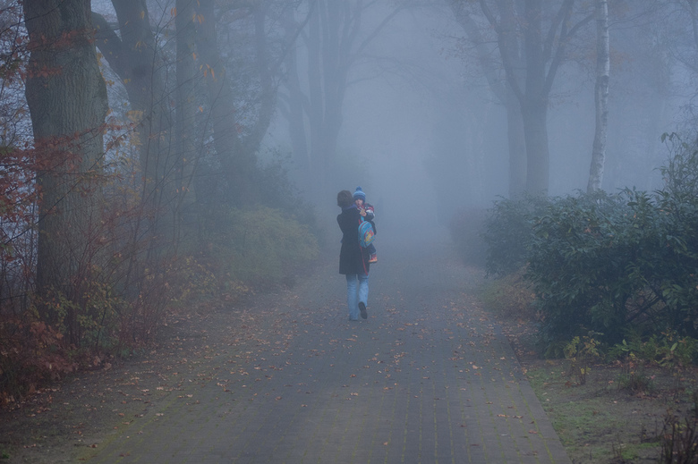 Mist - mistige ochtend