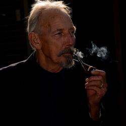 Een tevreden roker...