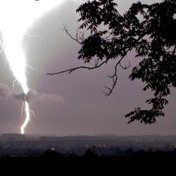 onweer in toscane