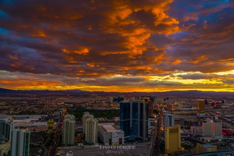 Sunset in Las Vegas -
