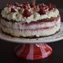 Zelfgemaakte taart