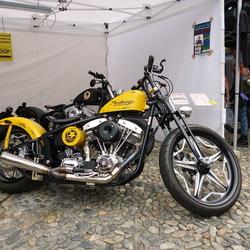 Harley Davidson stent.