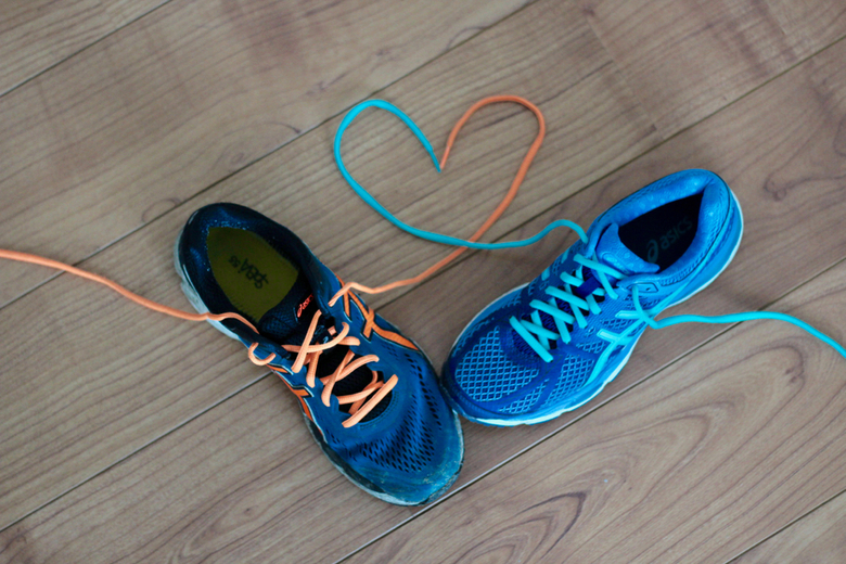 Verliefde schoenen.....