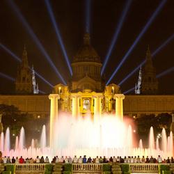 Barcelona fontein
