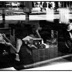Streetphoto Maastricht Hairdresser