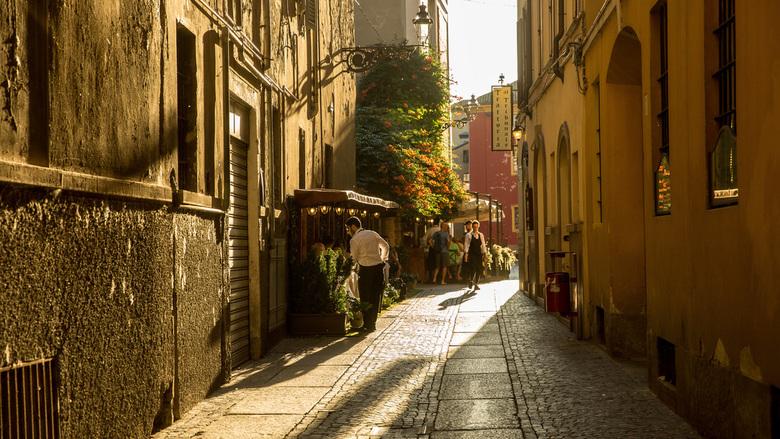 Straatbeeld Parma -