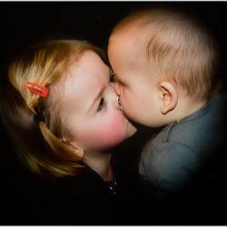 Kiss voor Liz