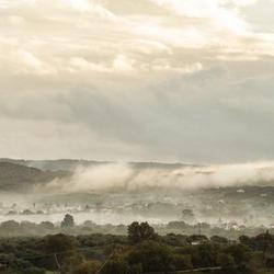 misty morning in Crete