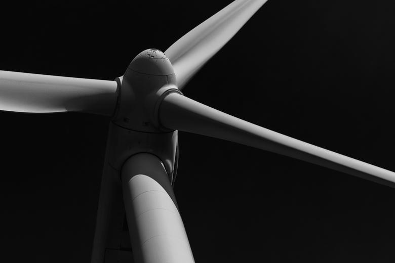 Windmolen - Fragment van een windmolen.<br />