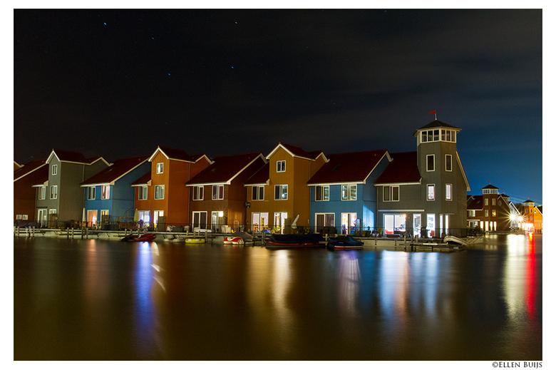Reitdiephaven Groningen - Erg vaak gefotografeerd deze plek. <br /> Pittoresk plekje. Je zou niet zeggen dat dit een woonwijk is die er pas een paar