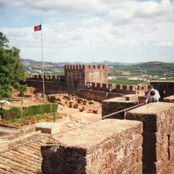 burcht in Silves