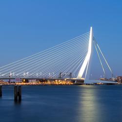 Erasmusbrug, Rotterdam.