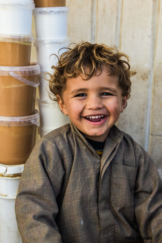 The little sweet child from Egypt  -