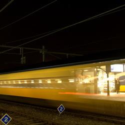 door de trein kijken
