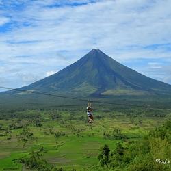 De vulkaan Mayon ( Mayon Volcano )