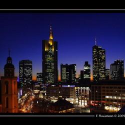 Frankfurt 's avonds