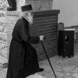 Priester op Kokkari