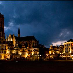 Mechelen bij nacht