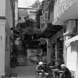 The good life in Corfu-city