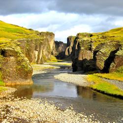 Fjaðrárgljúfur kloof
