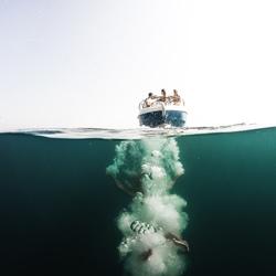 Diep in de zee