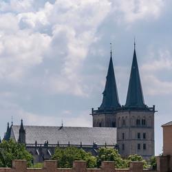 De Dom vanuit het museum gezien
