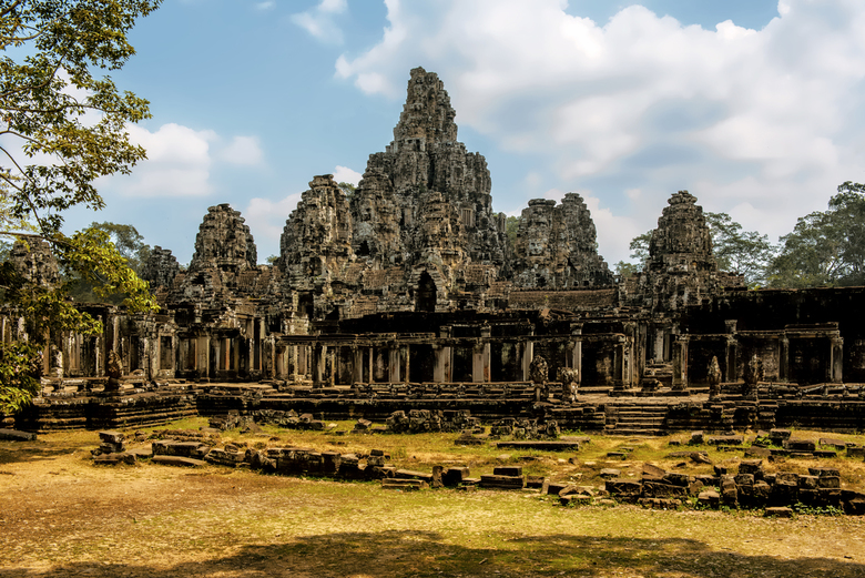 Angkor Wat Bayontempel Cambodja