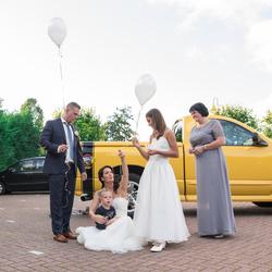 Emotioneel moment bruiloft