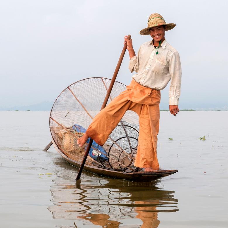 The Leg-Rowing Fisherman - The Leg-Rowing Fisherman