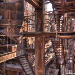 Verlaten oude staalfabriek (7)
