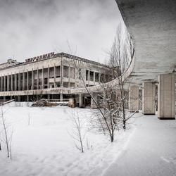 Pripyat, main square