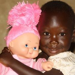 Grace krijgt een pop