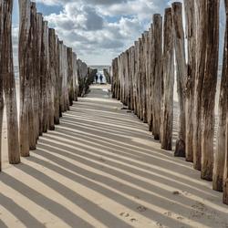 strandpalen Westenschouwen Zeeland
