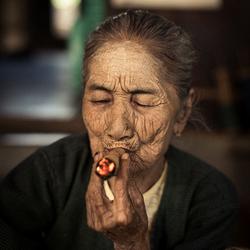 Zelfgerolde sigaren