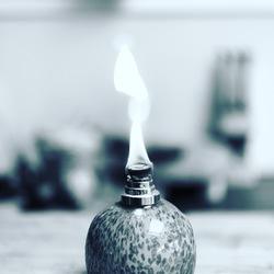 Burning boll