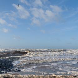 Hoog water Katwijk 4