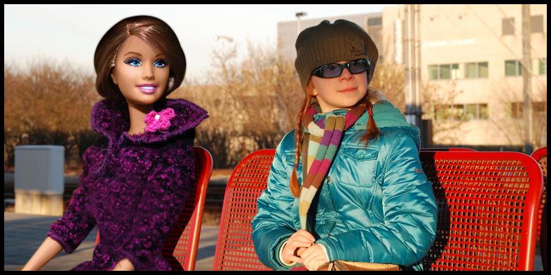 """Barbie and me . . . - Mijn inzending voor het project <a href=""""http://www.shootnshop.nl/projecten?func=viewcategory&amp;catid=11"""">Supersizen op Shootn"""