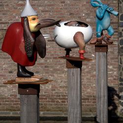sculpturen in de Dieze