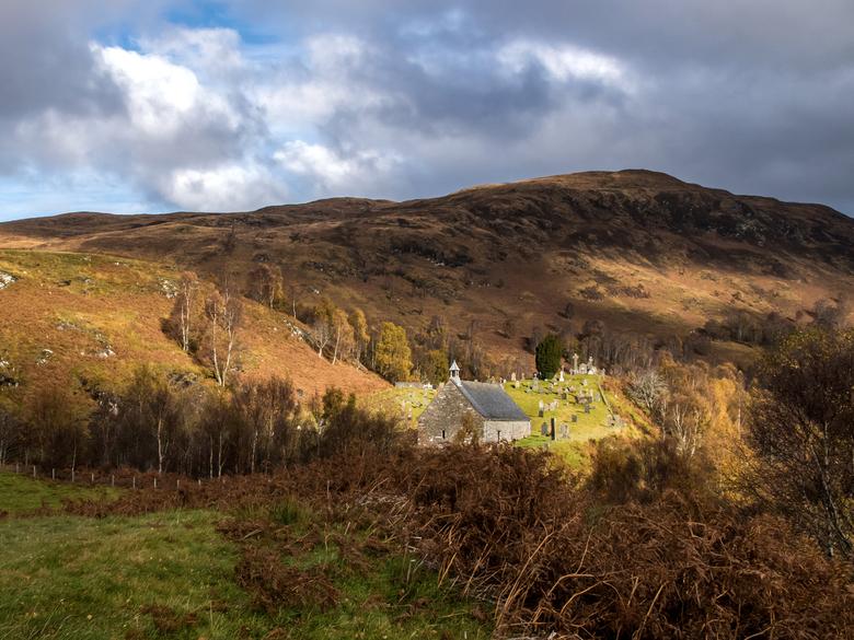 In the spotlight - Eén van mijn favoriete plekjes in Lochaber, Schotland. Deze herfst was ik daar en het weer werkte volledig mee. Mooie luchten, alle