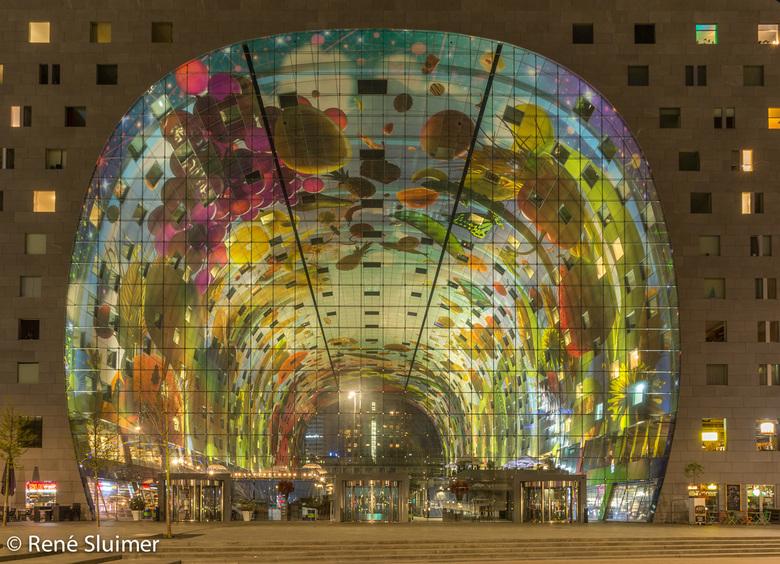 Markthal - Markthal in Rotterdam, beslist een bezoekje waard....