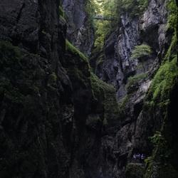 Partnachklamm Oostenrijk