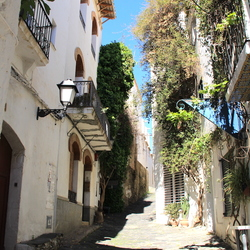 straatje in cadaques