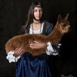 Het meisje met de alpaca